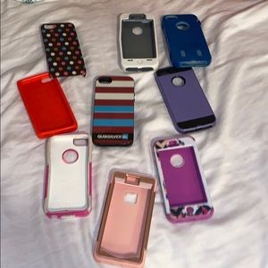 My old iPhone 5/5S cases